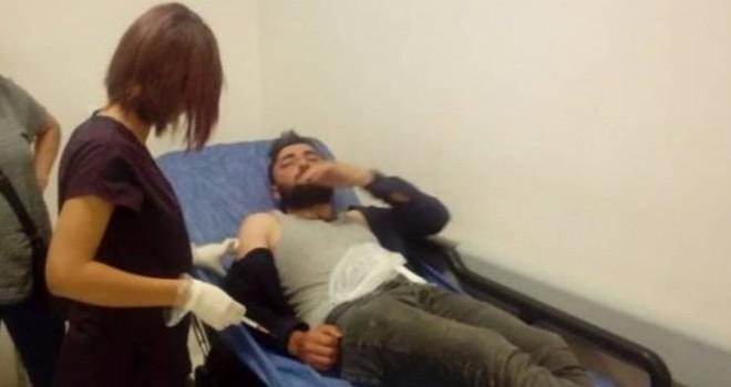 Malatya'da seçim çalışması yapan HDP'lilere demir sopalarla saldırı
