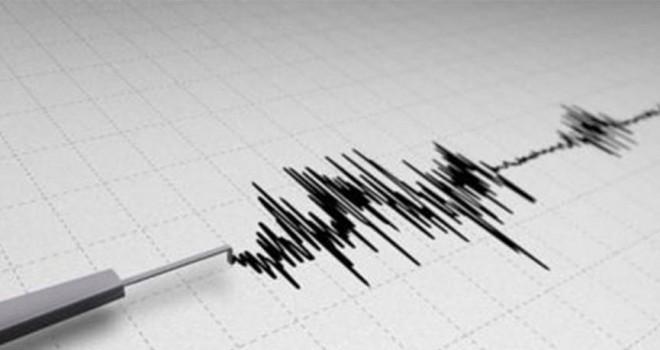 Ege Denizi'nde Karaburun açıklarından deprem