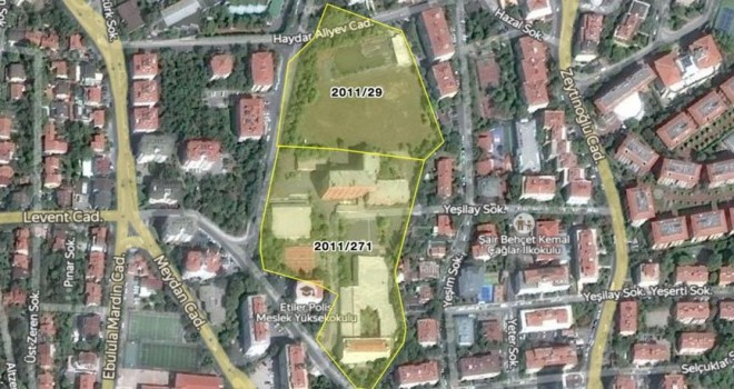 Etiler Polis Meslek Yüksekokulu arazisi satışa çıkıyor