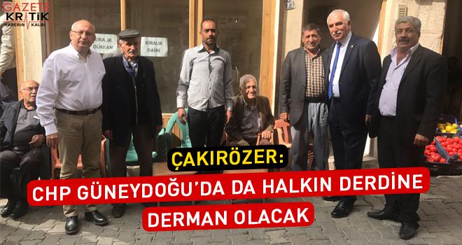 Çakırözer Mardin'de yerel seçimlerin nabzını tuttu