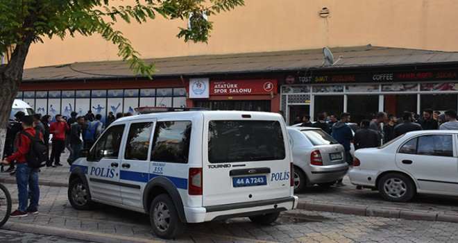 Malatya'da voleybol maçı sonrası kavga