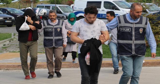 Samsun merkezli FETÖ operasyonu: 12 askere gözaltı