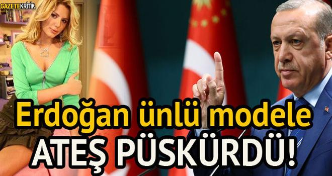 Erdoğan, Aysun Kayacı'ya ateş püskürdü