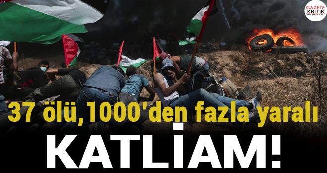 İsrail askeri göstericilere ateş açtı… Ölü ve yaralılar var