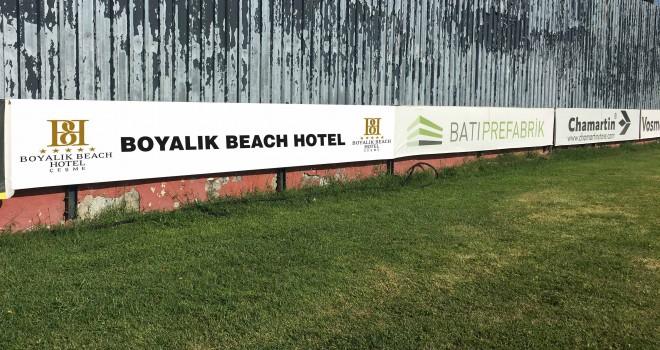 Boyalık Beach Hotel'den İzmirspor'a destek