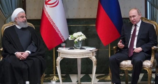 Putin ve Ruhani'den kritik telefon