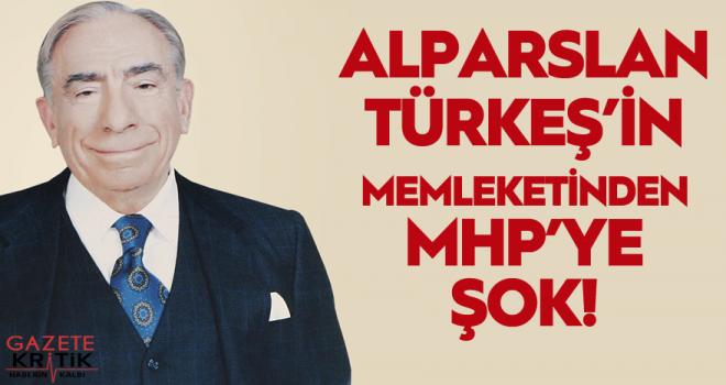 Türkeş'in memleketi Pınarbaşı'nın Belediye Başkanı MHP'den istifa etti