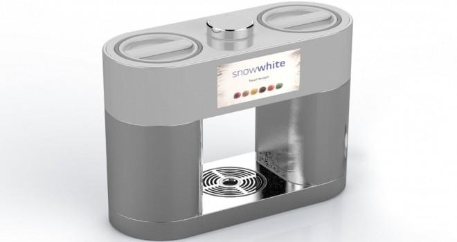 LG bu kez kapsüllü dondurma makinesi yaptı