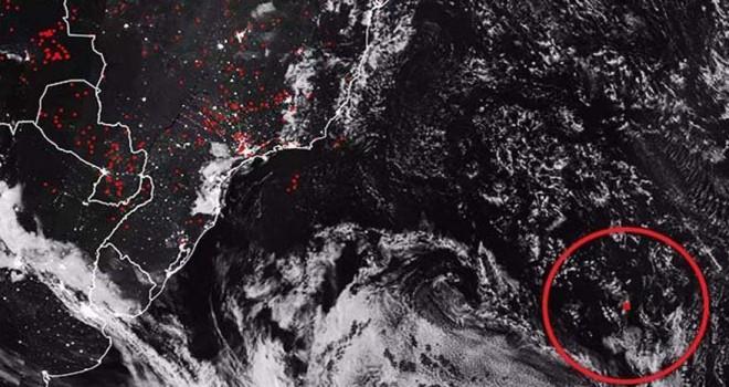 NASA az önce yayınladı… Okyanusta korkutan görüntü