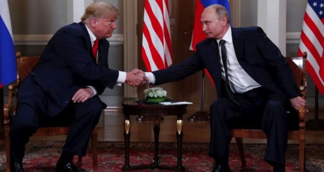 Trump ve Putin tokalaştı… Kritik zirve başladı