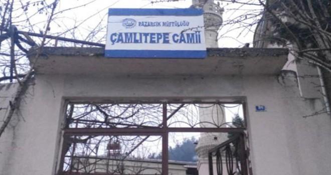 Pazarcık'ta, 1 haftalık bebeği cami avlusuna bıraktılar