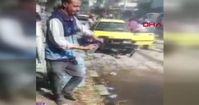 Cerablus'ta, bombalı motosikletli saldırı: 10 yaralı