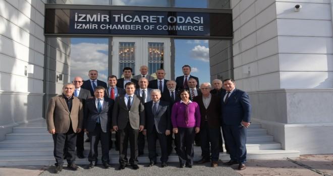 CHP'DEN İZTO'YA ZİYARET
