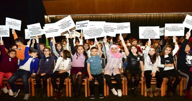 Beylikdüzü'nde 'Çocuk Meclisi' toplandı