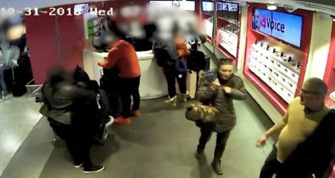 'Ailece hırsızlık' kameralara takıldı