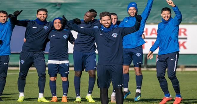 Kasımpaşa, Kayserispor maçı hazırlıklarını sürdürdü