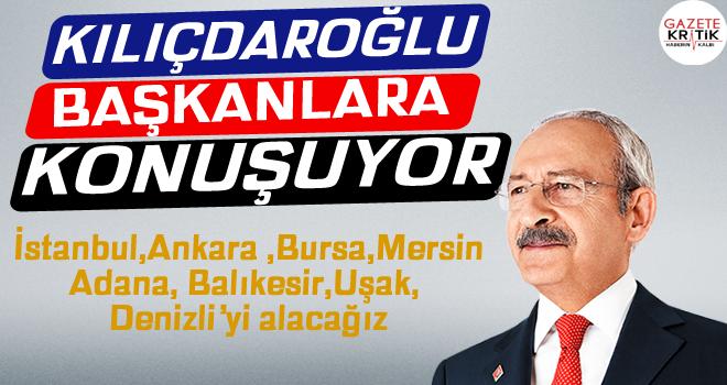 Kılıçdaroğlu belediye başkanları toplantısında