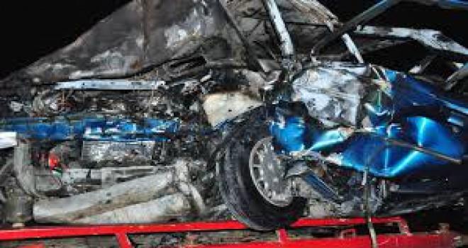 Manisa'da feci kaza! 'Sürücü ölmüştü ama yanmasına izin vermedim'