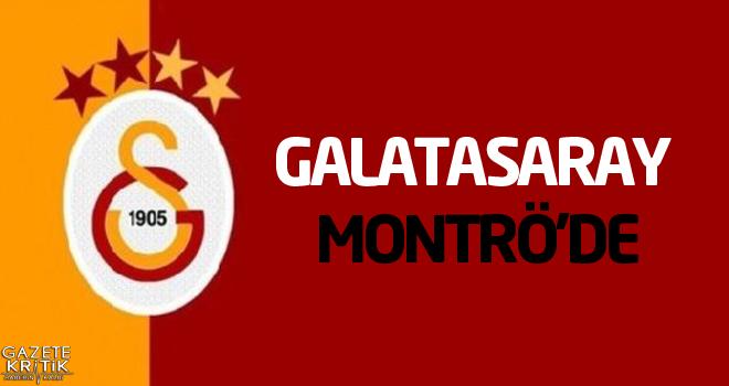 Galatasaray yeni sezon hazırlıklarını sürdürmek için Montrö'de