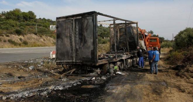 Komşuda feci kaza… 11 mülteci yanarak can verdi