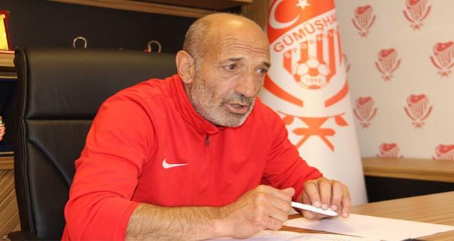 Gümüşhanespor'da teknik direktör Ziya Doğan istifa etti
