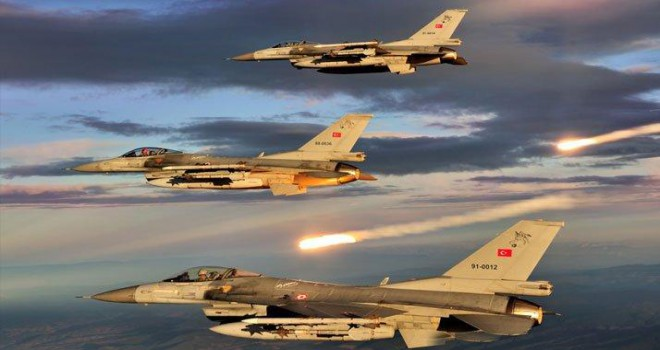 Kuzey Irak'a hava operasyonu: 15 terörist öldürüldü