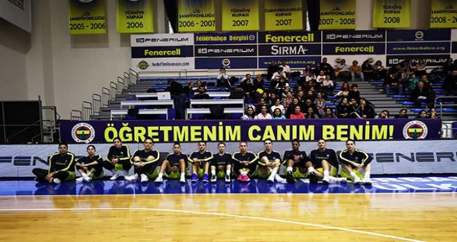 Fenerbahçe'den Ceren Damar Şenel pankartı