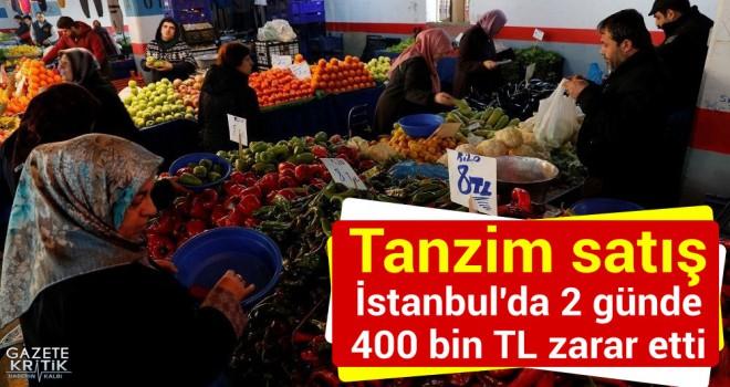 CHP'li Yarkadaş: Tanzim satış İstanbul'da 2 günde 400 bin TL zarar etti