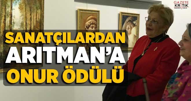 SANATÇILARDAN ARITMAN'A ONUR ÖDÜLÜ