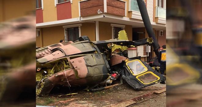 İstanbul'da 21 yılda düşen 6'ncı helikopter oldu