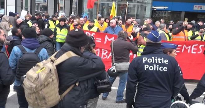 Fransa'da sarı yelekliler eylemlerinde şu ana kadar 4 bin 99 kişi gözaltına alındı