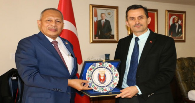 Elçilikler Arası Asya Birliği Badminton Turnuvası başlıyor