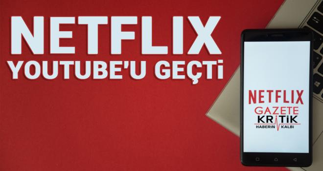 Netflix, Youtube'u geçti: İnternetin yüzde 15'ini tüketiyor