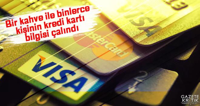 Bir kahve ile binlerce kişinin kredi kartı bilgisi çalındı