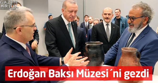 Erdoğan Baksı Müzesi´ni gezdi
