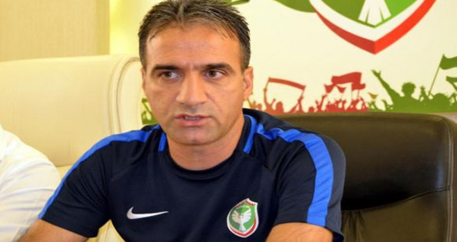 Amedspor'da teknik direktör Küçükbayrak istifa etti