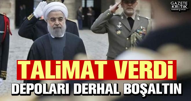 Ruhani: Devlet depolarını derhal boşaltın!