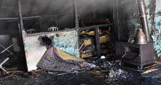 Konya'da Suriyeli ailenin evinde yangın: 4 çocuğun durumu ağır