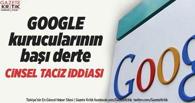 Google'da şirket içi cinsel taciz şoku