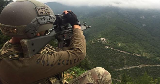 PKK'ya ağır darbe: 14 terörist öldürüldü