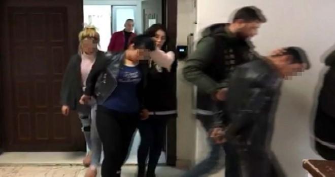 İlişki görüntüleri ile şantaja 5 gözaltı
