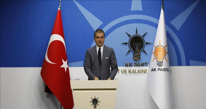 AKP Sözcüsü Çelik'ten düşen helikopterle ilgili ilk açıklama