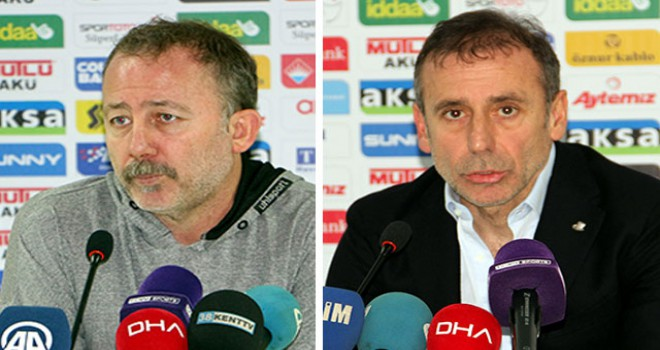 Aytemiz Alanyaspor - Medipol Başakşehir maçının ardından