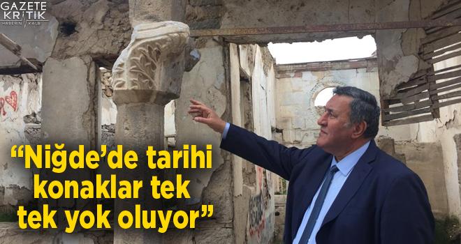 CHP'li Gürer: SİT alanlarında koruma değil yıkım izleniyor