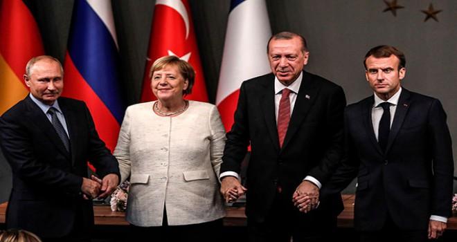 İstanbul'daki Suriye zirvesinin ortak bildirisi yayınlandı