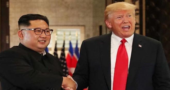 Donald Trump: Başkan seçilmeseydim, Kuzey Kore ile büyük bir savaşta olurdunuz