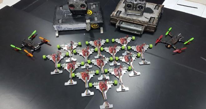 2 yılda 13 ödül alan robotik ekibi 8 yeni projeye hazırlanıyor