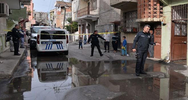Damadının evini kurşunladı, sokak su içinde kaldı