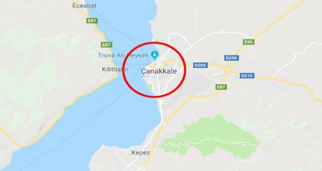 Çanakkale'de 4.0 büyüklüğünde deprem