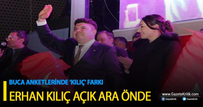 BUCA ANKETLERİNDE 'KILIÇ' FARKI